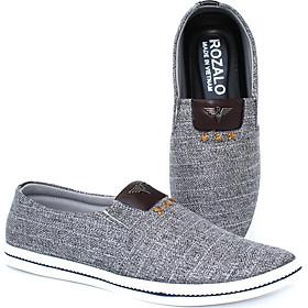 Giày lười vải nam Rozalo R4000