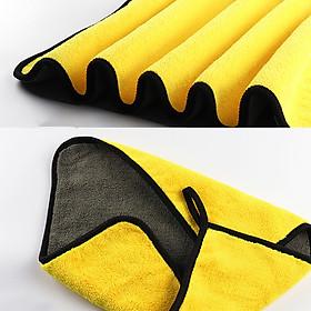 Combo bộ 3 khăn lau siêu thấm cho xe ô tô kèm bộ chổi vệ sinh khe gió