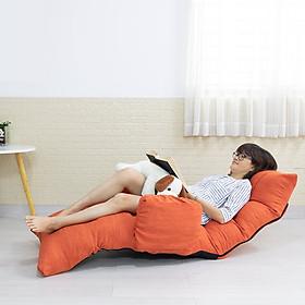 BTF360 Cam - ghế bệt nằm thư giãn , đọc sách, xem tivi đa năng Kiểu Nhật