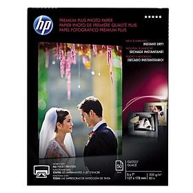Giấy In Ảnh HP Premium Plus Glossy 5R 300gms 50 Tờ