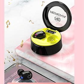 Tai Nghe Bluetooth Nhét Tai True Wireless Không Dây Reroka Beatzone Âm Thanh Nổi, Chống Ồn, Bass to, Treble trong, Pin Trâu, Kiểu Dáng Thể Thao Đeo Chắc Tai Nhiều Màu- Hàng Chính Hãng