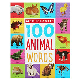 Scholastic 100 Animal Words