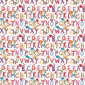 Giấy dán tường Hàn Quốc chữ cái 001-1gk