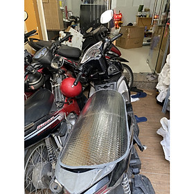 Tấm lót che nắng chống nóng yên xe máy, che bụi, che mưa loại tốt kích thước 80cm x 40cm