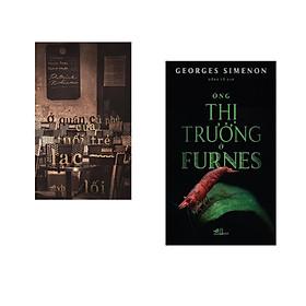 Combo 2 cuốn sách: Ở quán cà phê của tuổi trẻ lạc lỗi   + Ông thị trưởng ở Furnes