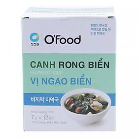 Hộp 12 Gói Canh Rong Biển Vị Ngao O'Food (7g/ Gói)