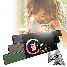 Color Salon Tea Hộp quà tặng đựng trà túi lọc dạng dài sáng tạo được chọn lọc (3 món)