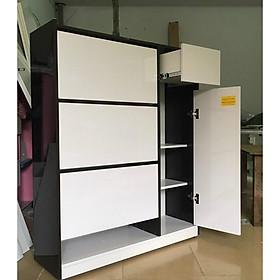 Tủ Giầy Nhựa Đài Loan 3 tầng nhiều ngăn - đủ màu