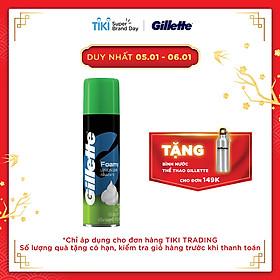 Bọt Cạo Râu Gillette Hương Chanh (175g)