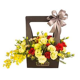 Hộp hoa tươi - Mộc Mạc 4043