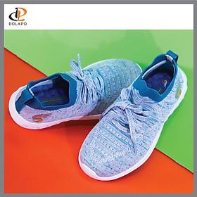 Giày Thể Thao Cho Bé Gái, Bé Trai Từ 5 - 12 Tuổi; Giày Sneaker Dolapo-S Cao Cấp, Siêu Nhẹ, Siêu Êm, Đàn Hồi, Thoáng Khí BK002-10