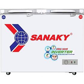 Tủ Đông Kính Cường Lực Inverter Sanaky VH-3699A4 (270L) - Hàng Chính Hãng - Chỉ Giao tại Hà Nội