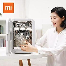 Nguyên bản Xiaomi Mijia Youpin Xiaolang Máy tính để bàn di động UV Ozone Light Khử trùng Khử trùng Máy khử trùng Tủ khử trùng