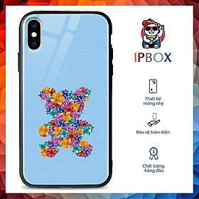 Ốp Đt Ip In Hình Bear IPBOX Cho Iphone 12/11/ProMax/Mini