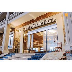 Combo 3N2Đ Sapa Charm Hotel 4* + Vé Xe Giường...