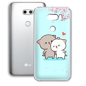 Ốp lưng điện thoại LG V30 - 01253 7871 CUTE15 - Silicon dẻo - Hàng Chính Hãng