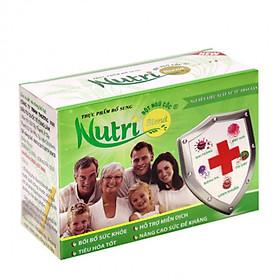 Thực Phẩm Chức Năng Bột ngũ cốc Nutriblend Hỗ Trợ Vấn Đề Tiêu Hóa_Hộp Nhỏ 10 gói