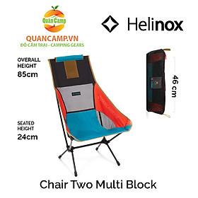 Ghế dã ngoại xếp gọn Helinox Chair Two Multi Block