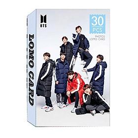 Bộ lomo card BTS mới (30 hình)