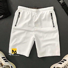 Quần short nam thể thao đồ gym thun cotton 4 chiều, quần đùi nam mặc nhà thể thao cao cấp ShopN6 - QSB2 (Nhiều Màu)