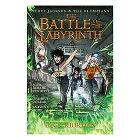 Percy Jackson And The Olympians Series: The Battle Of The Labyrinth: The Graphic Novel