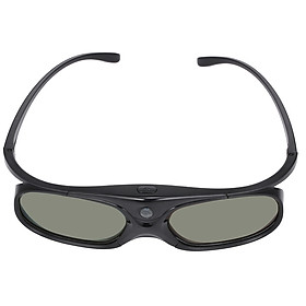 DLP Link 3D Glasses Active Shutter Projector Glasses Rechargeable for All DLP-Link 3D Projectors Compatible with Optoma