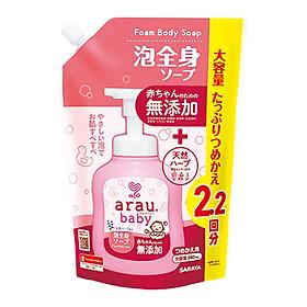 Sữa Tắm Trẻ Em Arau Baby Túi 880ml