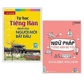 Combo Sách Học Tiếng Hàn: Tự Học Tiếng Hàn Dành Cho Người Mới Bắt Đầu + Ngữ Pháp Tiếng Hàn Bỏ Túi (Học Kèm App MCBooks Application) (Cào Tem Để Mở Quà Tặng) (Quà Tặng: Bút Blue Đáng Yêu)