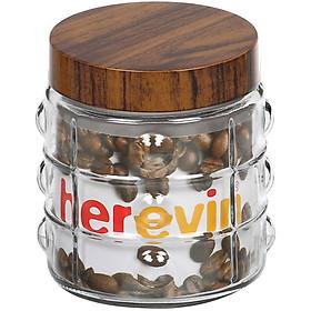 Hũ Thuỷ Tinh Herevin Tròn Sọc