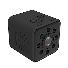 Quelima SQ23 Mini Camera WiFi 1080P DR Recorder IR Night Vision Video for  Home Office Camcorder