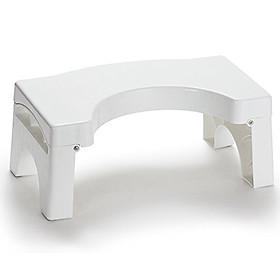 Bục kê chân toilet Eltory (Dạng Treo) - hỗ trợ tư thế vệ sinh, thiết kế hiện đại, giúp phòng chống táo bón, trĩ, bục kê chân toilet cho người cao tuổi và trẻ em. Hàng chính hãng, nhựa cao cấp chịu lực tốt - TS001