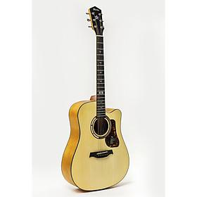 Đàn Guitar Acoustic GT-1DC Mầu Vàng Gỗ