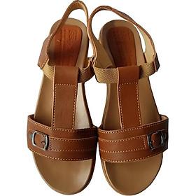 Giày Sandal Nữ BIGGBEN Da Bò Thật SDN43