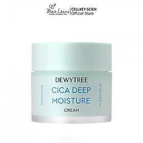 Kem Dưỡng Ẩm Chiết Xuất Rau Má Dewytree A-Clean Cica Deep Moisture Cream (50ml)
