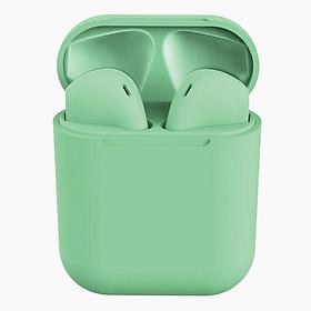 Tai nghe Bluetooth i12 TWS cao cấp tự động kết nối cho âm thanh sống động kèm hộp sạc tiện dụng chính hãng ILEPO INPODS 12