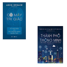 Bộ 2 cuốn sách về kỷ nguyên trí thông minh nhân tạo: Cỗ Máy Tri Giác - Thành Phố Thông Minh