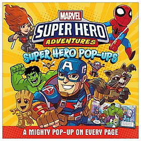 Marvel - Super Hero Adventures: Super Hero Pop-ups (Cased Pop-up Marvel)