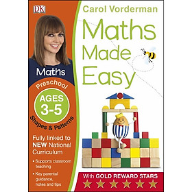 Shapes And Patterns Preschool Ages 3-5