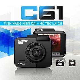 VietMap C61 PRO + Thẻ 32GB - Camera Hành Trình Ô tô - Cảnh Báo  Giao Thông Bằng Giọng Nói - Hàng Chính Hãng