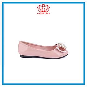 Giày Búp Bê Đi Học Bé Gái Crown Princess Ballerina CRUK3120 Chất Liệu Cao Cấp Nhẹ Êm Thoáng Mát Size 28-36/4-14 Tuổi