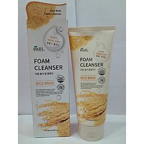 Sữa rửa mặt Gạo - Ekel Foam Cleanser Rice Bran 180ml (Tặng 2 mặt nạ Jant Blanc)