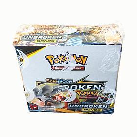 Bộ 324 Thẻ Bài Chơi Pokemon Sun&Moon Unbroken Bonds Cao Cấp