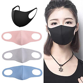 8Pcs Anti Flu Pollution Mouth Cover Reusable Dust Proof Face Cover