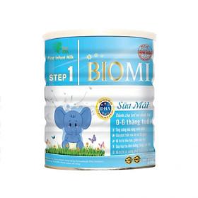Sữa bột Biomi Step 1 - Sữa mát cho bé từ 6 đến 12 tháng tuổi