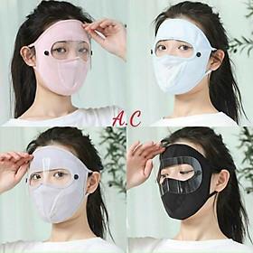 Khẩu Trang Ninja che kin mặt có kính