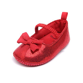 Fashion Baby Girl Breathable Anti-Slip Princess Shoes With Bowknot Casual Toddler Soft Soled First Walkers Baby Shoes New