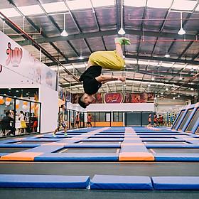 Vé Vào Khu Vui Chơi Bạt Nhún Jump Arena - Mua 3 Vé Tặng 1 Vé (HCM/ HN)