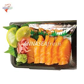Set 01 Sashimi cá hồi - 100gr (hộp)