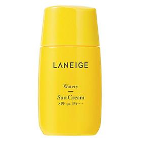 Kem chống nắng cho da thường tới da khô Laneige Watery Sun Cream SPF50+ PA++++ 50ml
