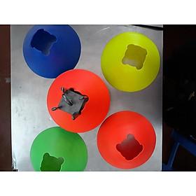 Combo10chiếc - 1màu - Cone tập luyện, nấm chiến thuật trong luyện tập bóng đá, đá banh